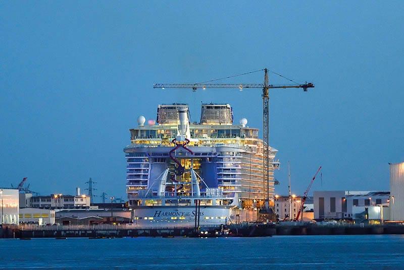 Visitez les chantiers de l'atlantique à Saint-Nazaire