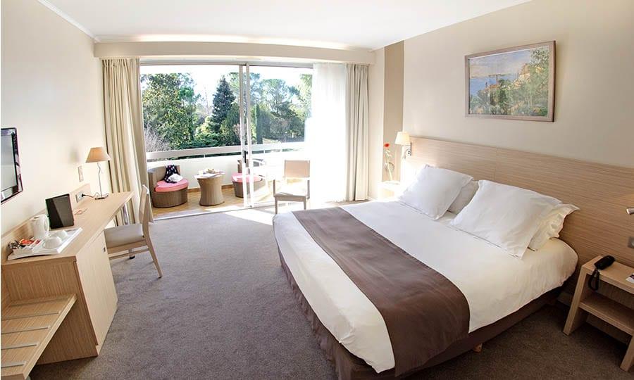 Chambre de l'hôtel Sevan Parc en Provence Pays d'Aix
